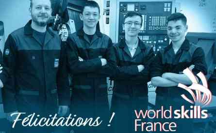 Qualifications Worldskills Isère